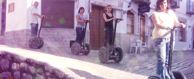 Segway tour casco antiguo Peñiscola